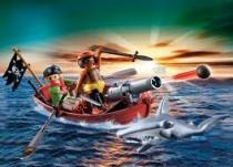 Playmobil 5137 - Pirátská veslice s kladivounem