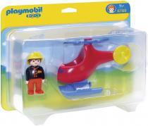 Playmobil 6789 - Požární helikoptéra
