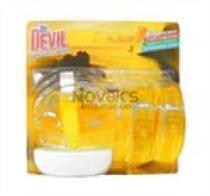 Tomil Dr. Devil WC blok tekutý Lemon fresh 3x55ml