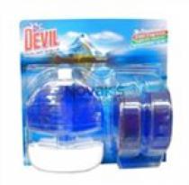 Tomil Dr. Devil WC blok tekutý Polar aqua 3x55ml