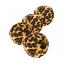 TRIXIE Míčky leopardí motiv 4cm 4ks
