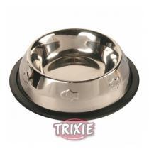 TRIXIE Miska nerez s gumou, motiv rybky 200ml/11cm