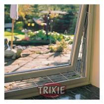 TRIXIE Ochranná mříž do boku okna, zkosená 62 x 8 / 16 cm