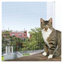 TRIXIE Ochranná síť pro kočky černá 8 x 3 m