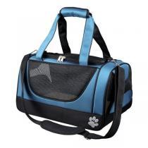TRIXIE Cestovní síťovaná taška JACOB modro/černá 27x23x42 cm