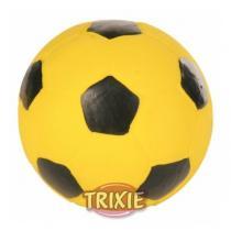 TRIXIE Fotbalový míč latexový - žlutý 11 cm