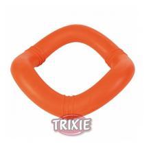 TRIXIE Plovoucí vlnitý kruh tvrdá guma 15cm