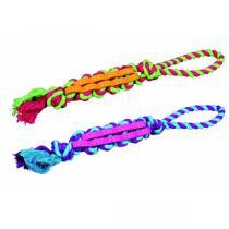TRIXIE Propletenec bavlna/guma na laně malý DENTAFun 4cm/37cm