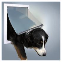 TRIXIE Průchozí dvířka pro psy M-XL dvoucestné 39 x 45 cm