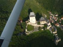 Vyhlídkový let nad hrad Karlštejn