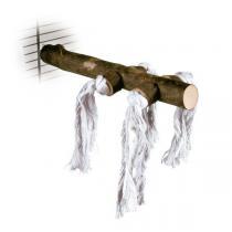 TRIXIE Bidýlko dřevěné s bavlnou velké 25cm/25mm
