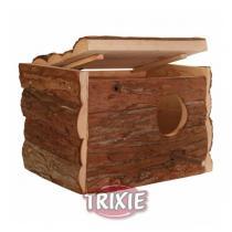 TRIXIE Hnízdící budka z přírodního dřeva 21x13x12cm