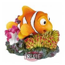 TRIXIE Korál s barevnou rybou 12x10 cm