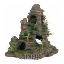 TRIXIE Skalní útvar s jeskyní a roslinami 31 cm