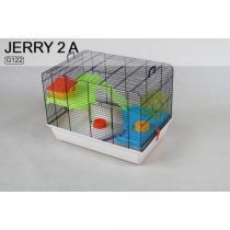 Inter zoo Klec JERRY II s plastovou výbavou 580x380x430mm