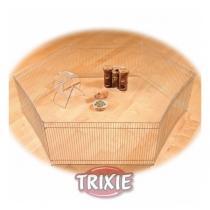 TRIXIE Ohrádka pozinkovaná pro myši a křečky 6 dílů 48x25cm