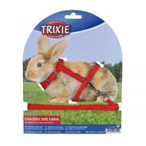 TRIXIE Postroj nylonový a vodítkem na králíčka