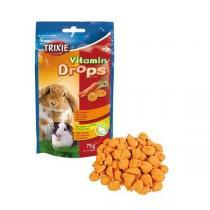 TRIXIE Vitamin Drops s karotenem pro hlodavce 75g