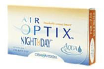 Ciba Vision Air Optix Night & Day AQUA 6ks