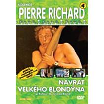 Návrat velkého blondýna DVD (Retour du grand blond, Le)