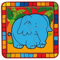 Bino 88003 - Puzzle slon
