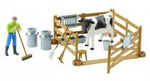 BRUDER 62600 Bworld - Zemědělský set, figurka