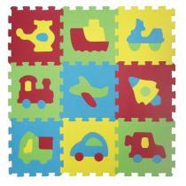 Ludi Puzzle pěnové - dopravní prostředky