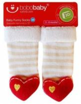 Bobo baby Kojenecké ponožky s chrastítkem