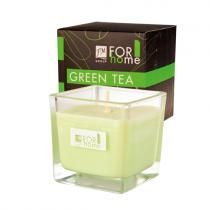FM Group Green Tea vonná sójová svíčka 200 ml
