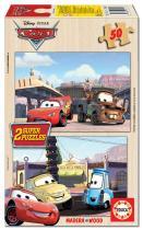 EDUCA Dřevěné Cars 2x50 ks