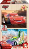 EDUCA Dřevěné Cars 2x25 ks