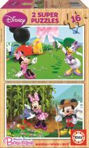 EDUCA Dřevěné Minnie 2x16 ks
