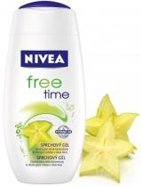 NIVEA Free Time sprchový gel 250ml