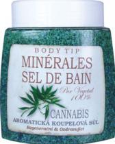 BODY TIP sůl do koupele Cannabis 900g