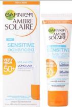 GARNIER Ambre Solaire 50ml Sensitive SPF 50+
