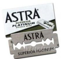 ASTRA Superior platinum žiletky