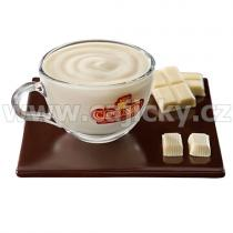 Cioconat Horká čokoláda - Bílá, 28g