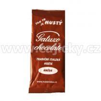 Gatuzo Krémová horká čokoláda - tmavá, 27g