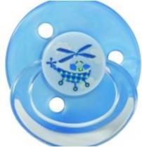 BABY NOVA dudlík silikon kulatý