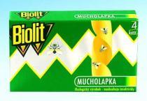 BIOLIT Mucholapka 4ks