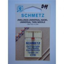 Schmetz dvojjehla 130/705 H univerzal, rozpich 2 mm / 80