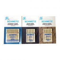 SCHMETZ Set jehel 130/705 H (universal, stretch, jeans)