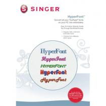 Singer HyperFont Futura XL 400, 550