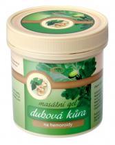 Topvet Dubová kůra masážní gel na hemoroidy 250 ml