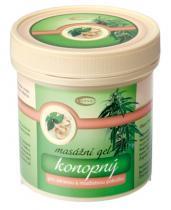 Topvet Konopný masážní gel pro zdravou a mladistvou pokožku 250 ml