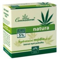 Cannabis Pharma-Derm Cannaderm Hydratační mýdlo Natura 100 g