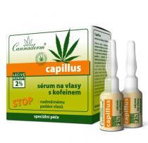 Cannabis Pharma-Derm Cannaderm Stimulační sérum na vlasy s kofeinem Capillus 8x5ml