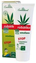 Cannabis Pharma-Derm Cannaderm Bio Zvláčňující krém na atopický ekzém Robátko Emoliens 75 g