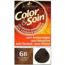 Les 3 Chenes Barva a Péče 6B - Kakaově hnědá 135 ml