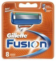 Gillette Náhradní hlavice Fusion 8 ks